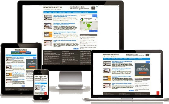 Responsice Blog Design